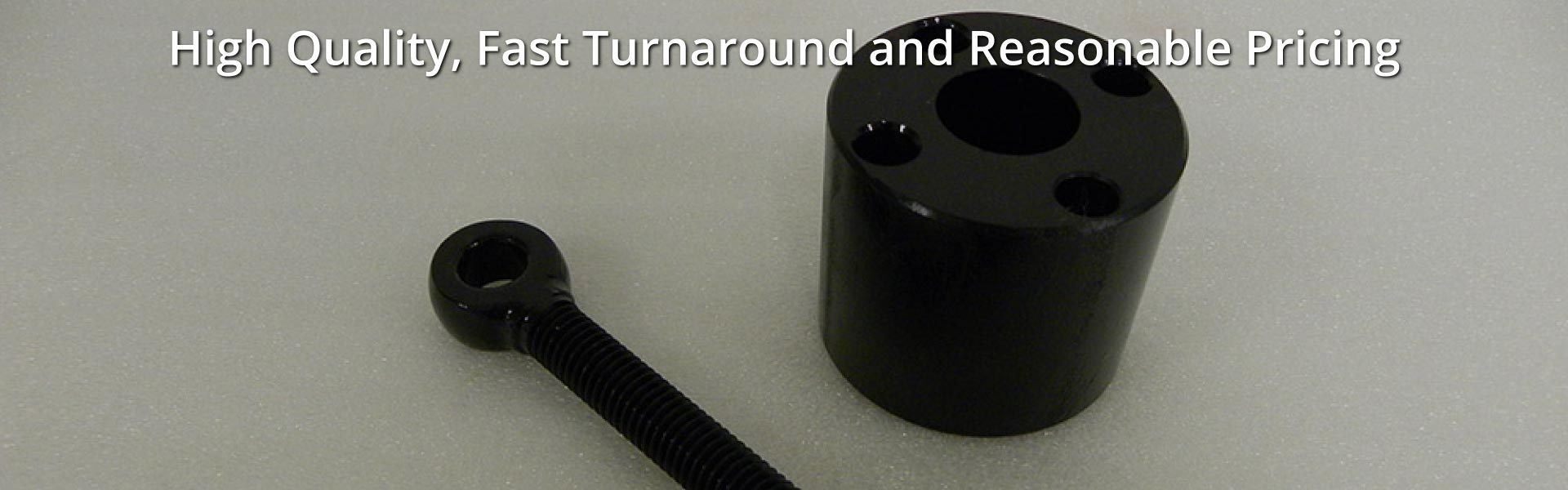 High Quality, Fast Turnaround and Reasonable Pricing | Black Oxide over steel