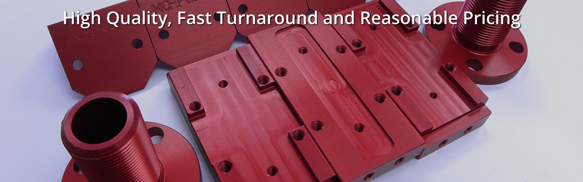 High Quality, Fast Turnaround and Reasonable Pricing | red Anodizing on Aluminum