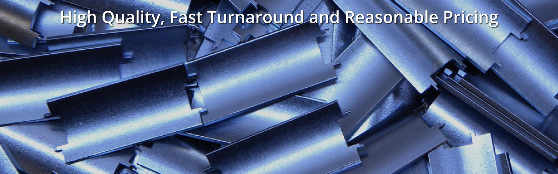 High Quality, Fast Turnaround and Reasonable Pricing | Zinc plated metal