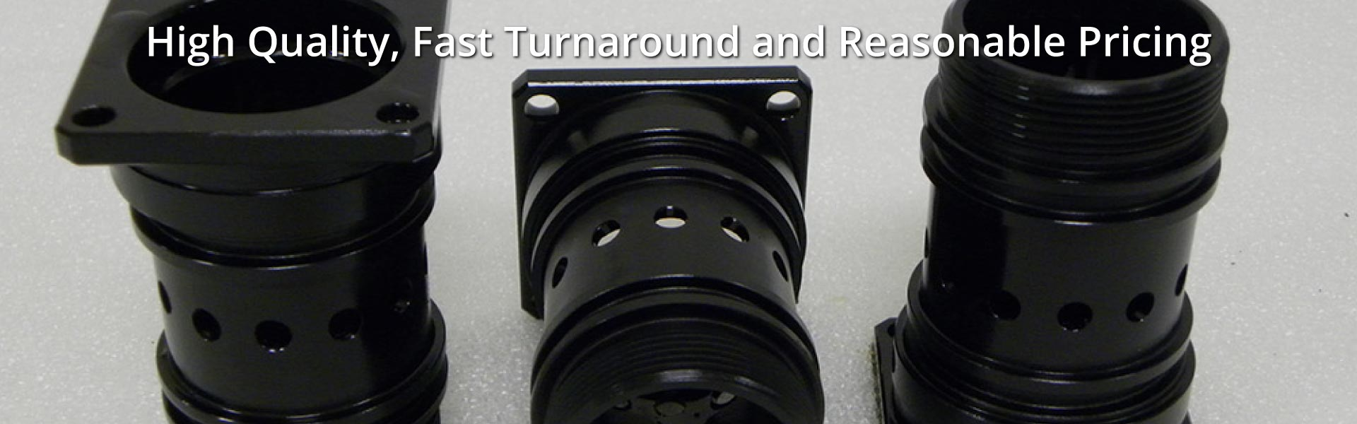 High Quality, Fast Turnaround and Reasonable Pricing | Black Oxide plated metal
