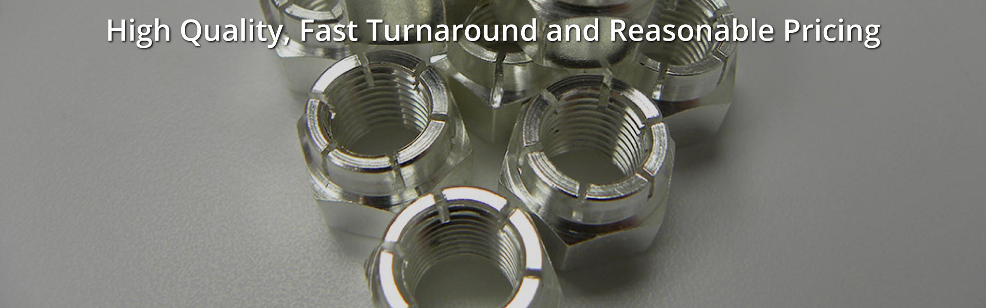 High Quality, Fast Turnaround and Reasonable Pricing | Silver over stainless steel