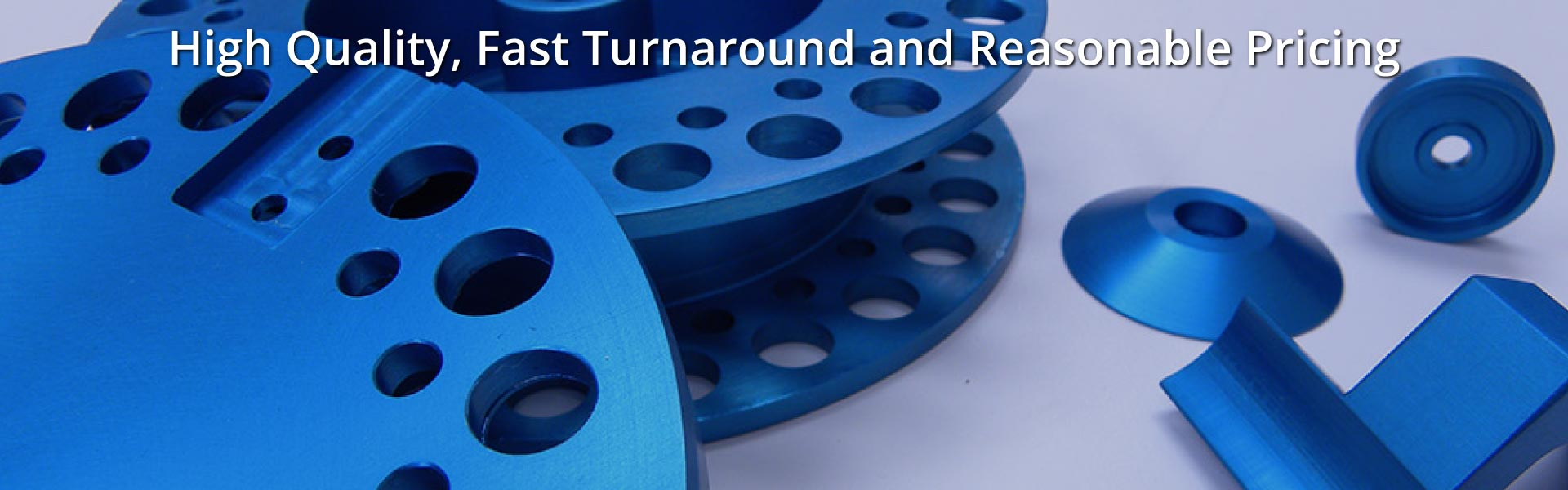High Quality, Fast Turnaround and Reasonable Pricing | Blue Anodizing on Aluminum