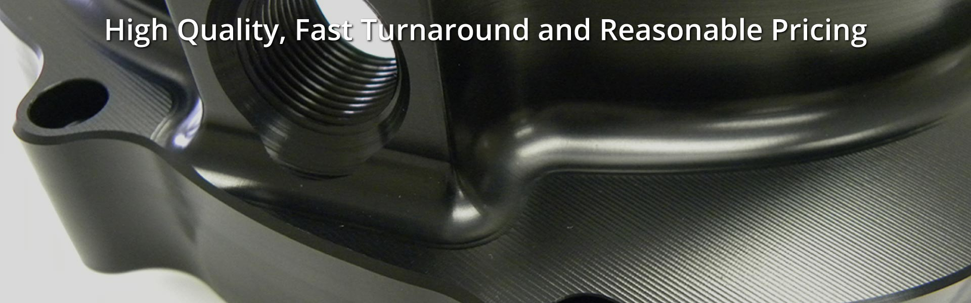 High Quality, Fast Turnaround and Reasonable Pricing | Black Anodizing on Aluminum
